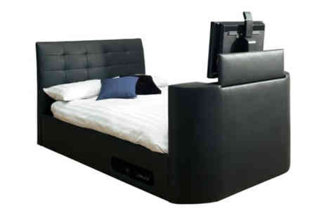 Ventura Incorporated - Hampton Super King Wireless TV Bed - Save 64%