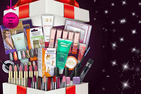 Look N Style - Four piece mystery makeup box including beauty brands such as L'Oreal, Maybelline & Revlon - Save 63%