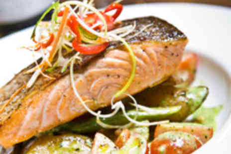 BEST WESTERN The Gables Hotel - Two Course Brasserie Dining for Two with a Bottle of Wine to Share - Save 48%