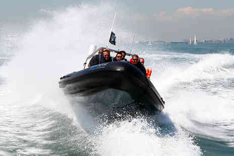 Seadogz Rib Charter - Adrenaline Fuelled Solent RIB Ride for One  - Save 60%