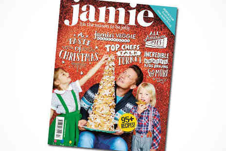 Jamie Oliver - One Year Subscription to Jamie Magazine Plus Copy of Jamies Brand New Comfort Food Book - Save 60%