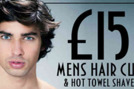 TCs Hair & Beauty - Mens Hair Cut and Hot Towel Shave - Save 70%