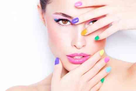 Jays hair and beauty salon - Shellac Manicure or Pedicure - Save 0%