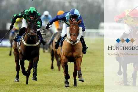 Huntingdon Racecourse - Countryside Day or Boxing Day Family Pass  - Save 0%