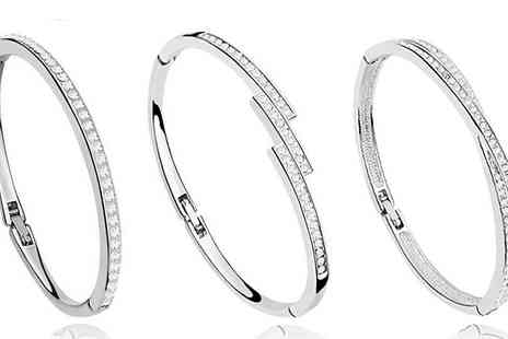 Finishing touch - Choice of Three Bangles - Save 85%