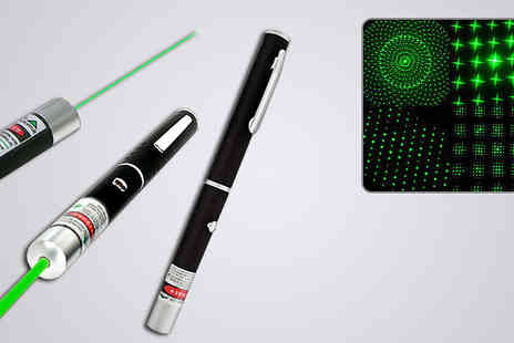 Zip Gadgets - 6 in 1 Green Laser Pointer Pen - Save 72%