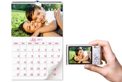2m Print - Personalised A4 Photo Calendar - Save 65%