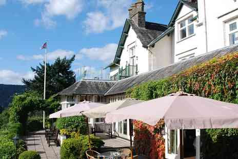 Best Western Burnside Hotel -  Lake Windermere Retreat with Three Course Dinner & Bubbly - Save 53%
