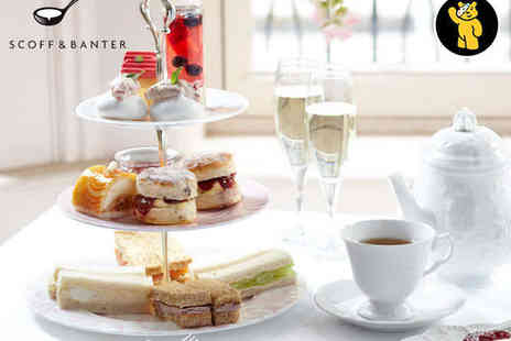 Scoff and Banter - Afternoon Tea for Two - Save 0%
