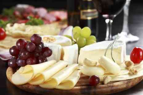 LE DI VIN WINE BAR - Sharing Platter With Bottle of Wine For Two - Save 53%