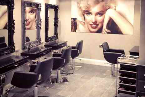 NUYU - Cut, Condition, Blow Dry and Prosecco With Highlights - Save 58%