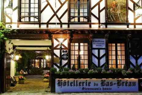 Hôtellerie du Bas-Bréau - One Night stay For two With Champagne  - Save 0%