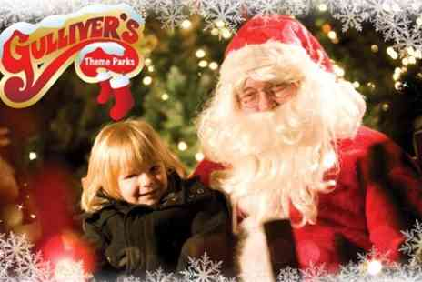 Gullivers Kingdom - Entry to Christmas festivities include access to Santas grotto and elf workshop - Save 0%