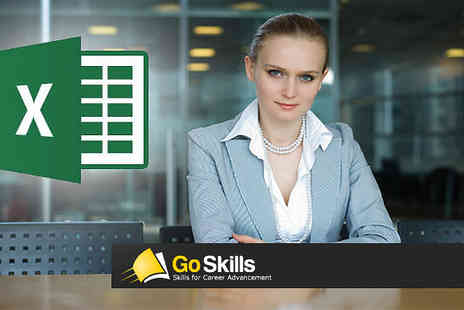 GoSkills - The Microsoft Excel Online Course - Save 90%