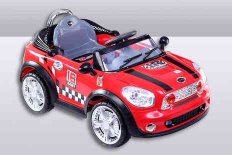 Turborevs - Childrens Electric Red Car - Save 42%