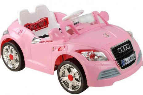Turborevs - 6V Electric Ride On Audi TT for Kids - Save 41%