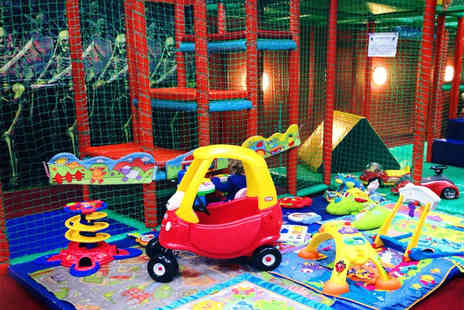 Monkey Madness - Soft play session for Two adults & Two children - Save 50%