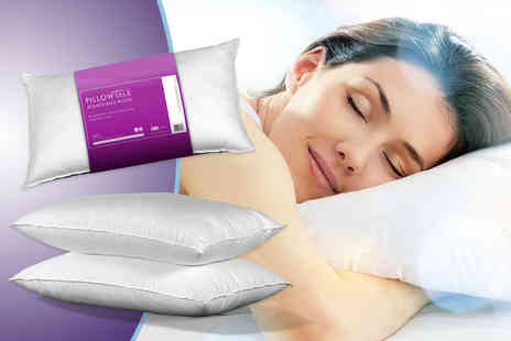 Sleep Solutions - Two Bounce Back pillows  - Save 82%
