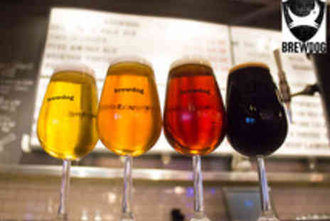 BrewDog Bars - An Introduction to BrewDog Beer Tasting and Talk with Five BrewDog Beers, Cheese and Meats - Save 0%