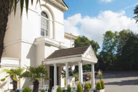 The Penventon Park Hotel - Cornish Getaway Near St Ives for Two with a Three Course Dinner - Save 44%