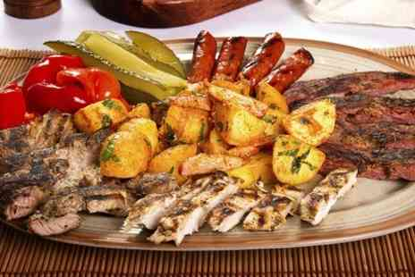 Floripa - Brazilian Sharing Platter For Two With Two Cocktails for Each  - Save 60%