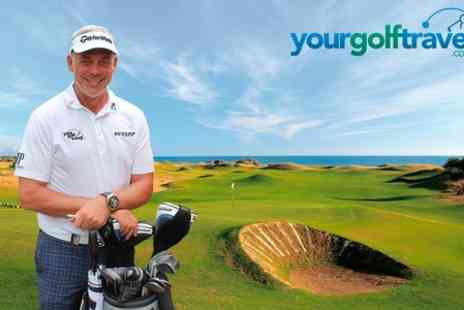 Your Golf Travel - £20 for £40 voucher towards a golfing or spa break  - Save 50%