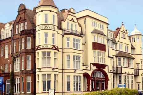 The Cliftonville Hotel - One Night Stay For Two With Breakfast  - Save 55%