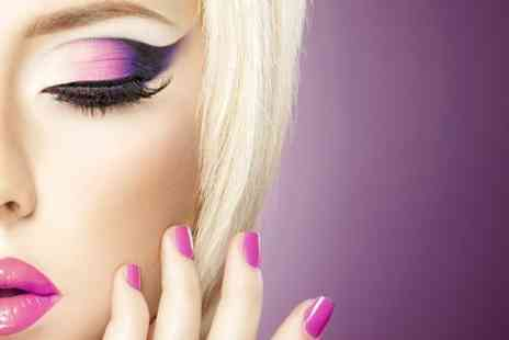 DVA - Lash Extensions for Natural Look or Extra Volume With Brow Threading and Tint - Save 65%