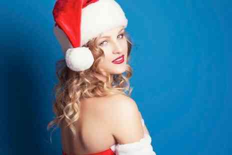 Studio 52 London - Festive Makeover Photoshoot For Two Plus A4 Print or Ten Cards  - Save 90%