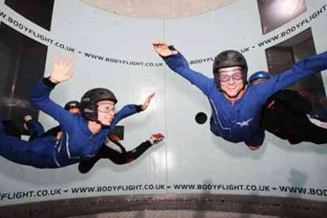 Bodyflight Bedford -  Indoor Skydiving Experience including 2 Flights - Save 32%