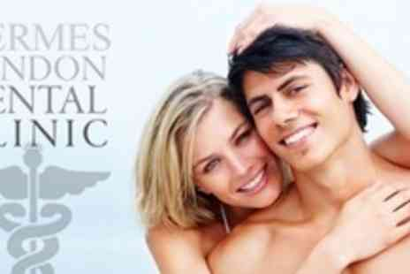 Hermes London Dental Clinic - Dental Clean and Air Polish, Examination, Plus X Rays if Required - Save 68%