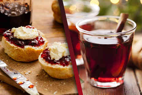 The Kitchen Door Cafe - Christmas afternoon tea for two - Save 50%