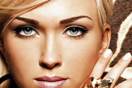 Limelight Salons - Full set of Hollywood lashes, an eyebrow wax and tint  - Save 70%