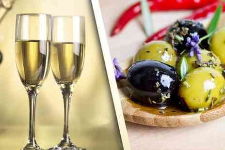 The Bridge Wine Bar - Bottle of Prosecco and gourmet nibbles to share between two - Save 50%