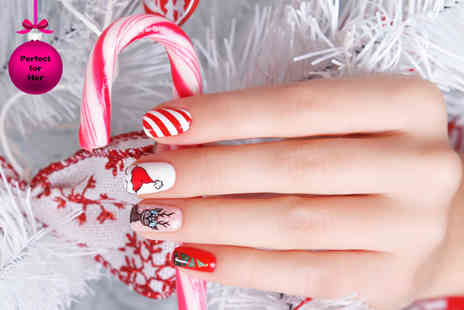 Midas Touch - Two hour Christmas nail art workshop for One - Save 80%