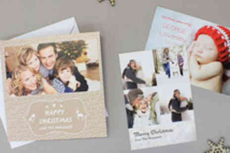 Paper Shaker - Personalised Christmas Cards - Save 56%