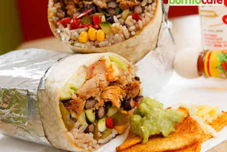 Burrito Cafe - Burrito and Beer, and Churros with Hot Drink Each for Two - Save 50%