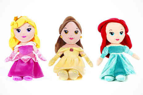 Online Gift Store - Disney Princess Soft Dolls - Save 45%