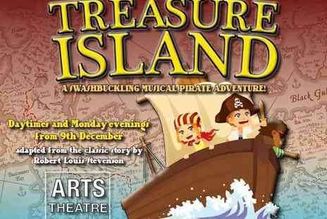 the Arts Theatre - Ticket to See Treasure Island Family Christmas Show for One  - Save 25%