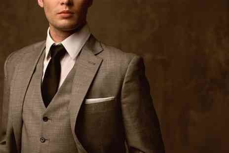 Quentin Bond - Wedding Suit Hire Package  - Save 61%
