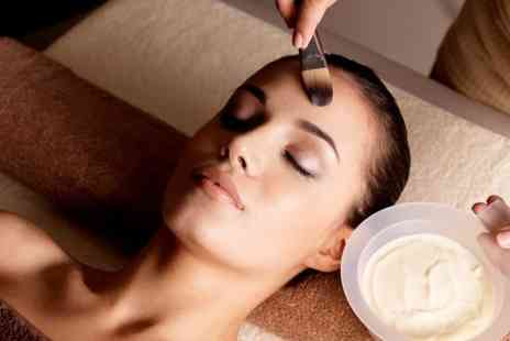 tracey cole hair and beauty - Facial Plus Shellac Manicure or Pedicure - Save 50%