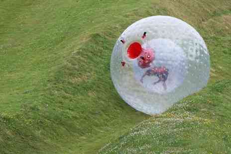 Thunderballz  - Two Zorbing Runs For Two  - Save 79%