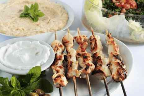 Damas The Art Of Meze - £10 voucher worth £20 for 2  - Save 50%