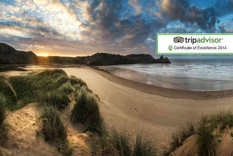 Oldwalls Gower - One night luxury stay for 2 including breakfast - Save 45%