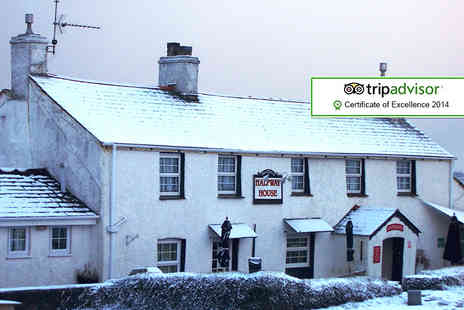 Halfway House Inn - Two night Country House break with breakfast and dinner in Cornwall - Save 42%