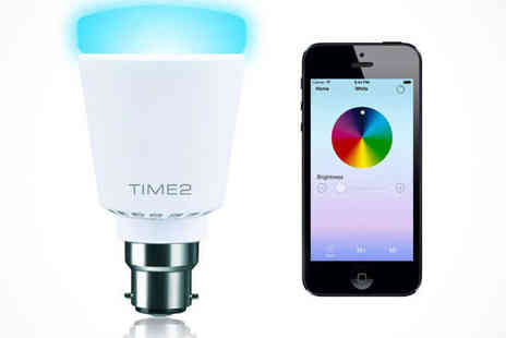 Colour-Changing Bulb with Music Syncing Capability - Colour-Changing Bluetooth Light Bulb with Music Syncing Capability - Save 42%