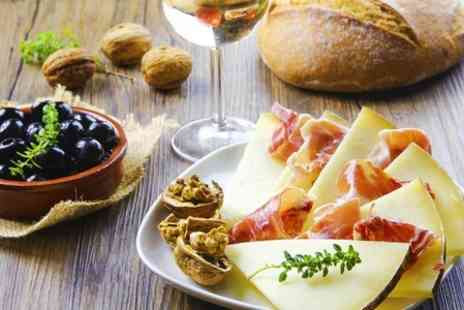 Aroma Cafe Bar - Two Course Tapas Meal For Two With Prosecco - Save 56%