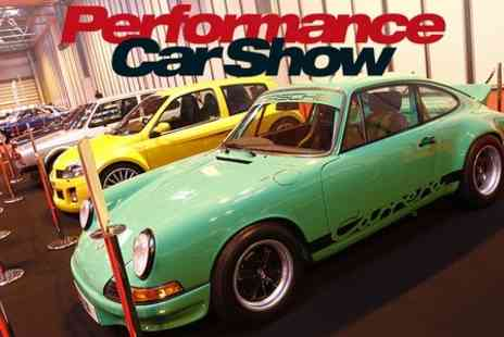 The Performance Car Show - Entry to Performance Car Show Afternoon - Save 0%