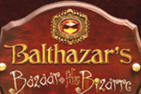 Greenwich Theatre - Group Ticket to Balthazars Bazaar of the Bizarre - Save 52%