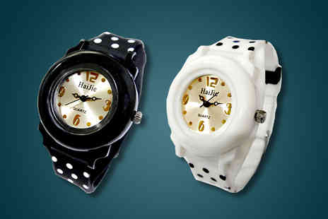 Avatora international -  Polka Dot Watch - Save 68%
